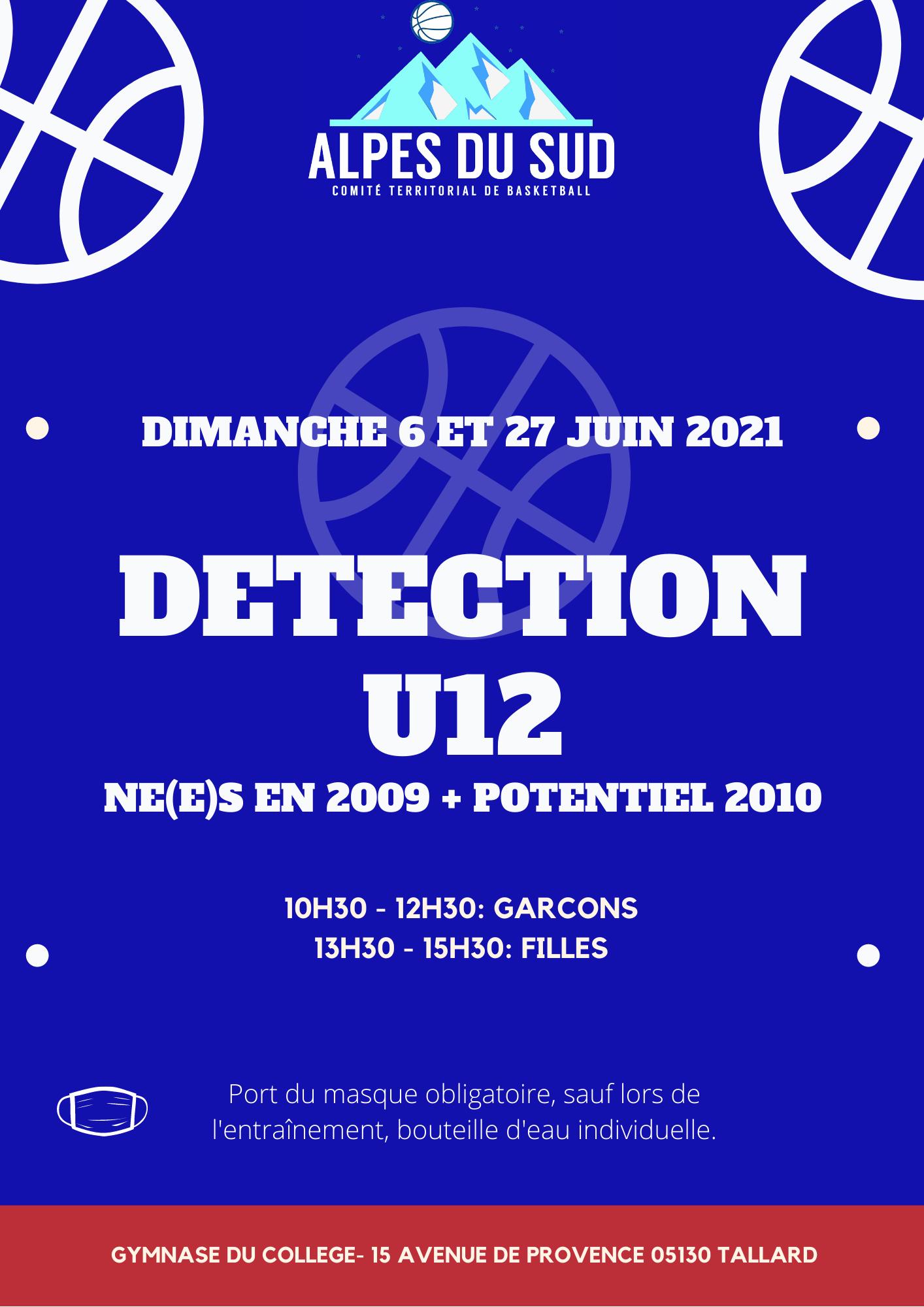 DETECTION U12 – U11