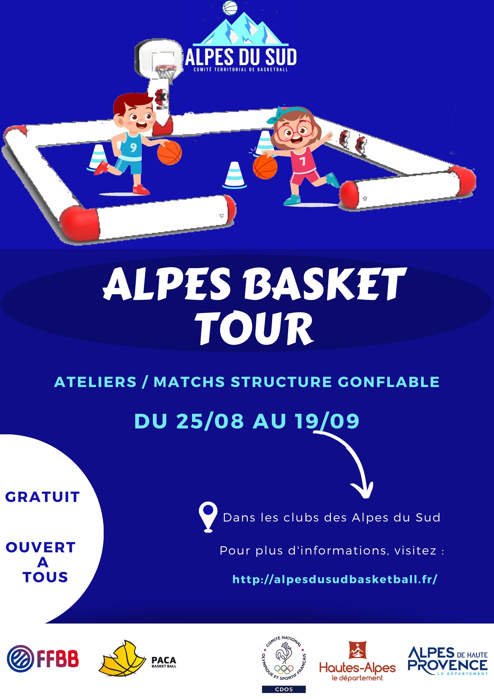ALPES BASKET TOUR