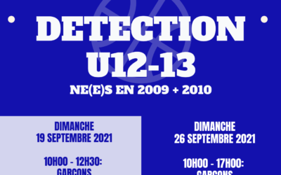 DETECTION U13 – U12